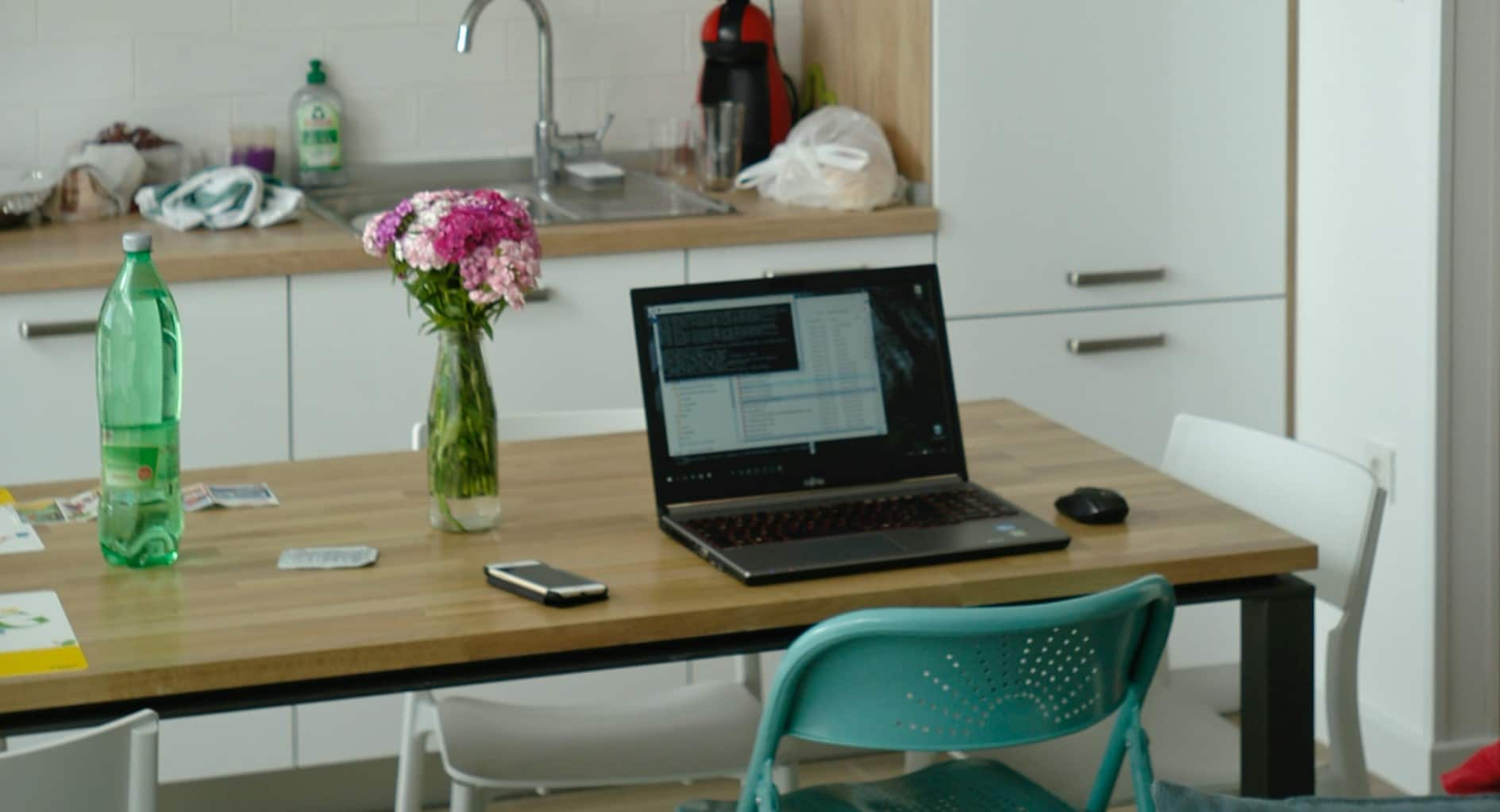 Working from home laptop