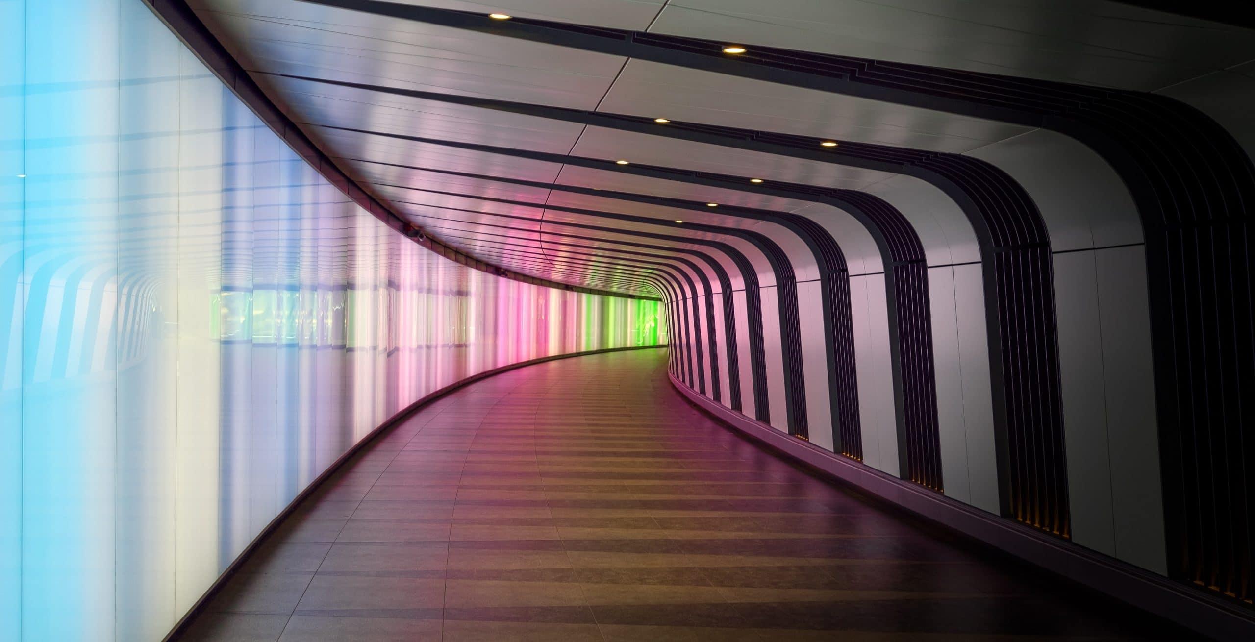 colourful portal