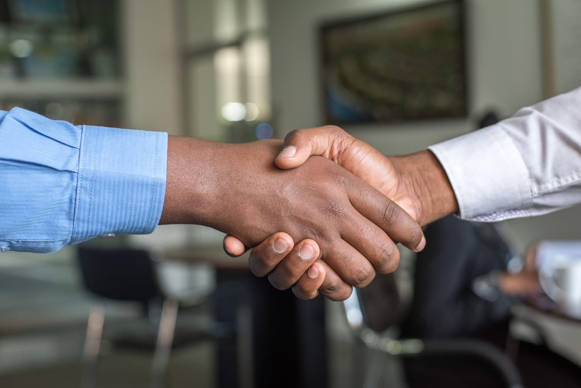 handshake representing terms and conditions