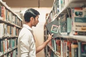 heathcare library patron